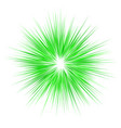 Green abstract explosion design background