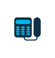 landing phone icon colored symbol premium quality vector image