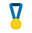 Medal isolated vector image vector image