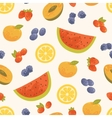 seamless sweet summer background vector image
