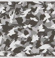 war grey urban camouflage seamless pattern can vector image vector image