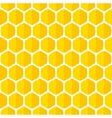 Beautiful honeycomb seamless background vector image