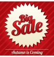 Big sale tag sticker Icon for special offer vector image vector image