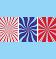 bright striped banners vector image