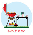 closed bbq fire place vector image vector image