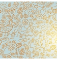colorful seamless pattern with light background vector image