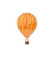hot air balloons travel vector image