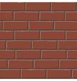 red bricks tex vector image vector image