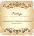 vintage grunge background vector image vector image