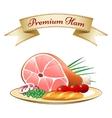 Premium Ham vector image