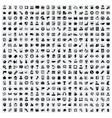 400 universal web icons vector image
