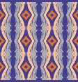 abstract seamless wavy pattern hand drawn brush vector image vector image