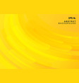abstract yellow geometric background and dynamic vector image vector image