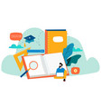 education online training courses vector image vector image