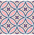 intricate floral pattern tile background vector image vector image
