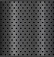 metal steel texture holes halftone pattern vector image