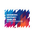 seamless isometric pattern vector image vector image