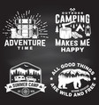 set outdoor adventure inspirational quote vector image vector image