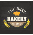 the best bakery shop malt background image vector image vector image