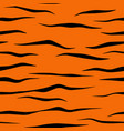 tiger stripe pattern tile vector image vector image