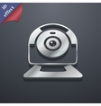 Webcam icon symbol 3D style Trendy modern design vector image vector image