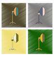 Assembly flat shading style icon professional vector image