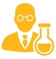 Chemist Icon vector image vector image