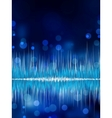 abstract waveform background eps 8 vector image