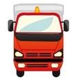 Big cargo car vector image vector image
