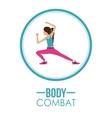 Bodycombat design vector image vector image