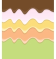 Cream Cake Icing Background vector image vector image