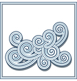 Decorative swirls vector image