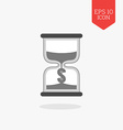 Hourglass with dollar sign icon time is money vector image vector image