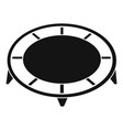 house trampoline icon simple style vector image vector image