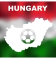 Hungarian Abstract Map vector image vector image
