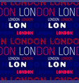 london city pattern vector image vector image