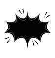 retro burst icon vector image vector image