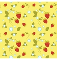 Strawberries Seamless Pattern vector image vector image