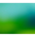 Green blurred halftone background vector image