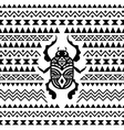 Abstract Tribal Ornamental Background vector image