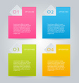 Business infographic template for presentation vector image