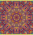 colorful tribal ethnic festive abstract floral vector image vector image