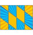 comic explosive bright composition vector image vector image