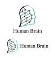 Human brain logo