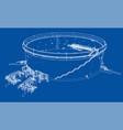 oil storage tank vector image vector image