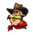 Western cowboy vector image vector image