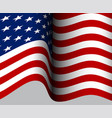 american flag american flag background vector image
