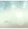 background with sparkle stars vector image vector image