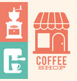 coffee shop grinder machine image vector image
