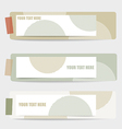 Cute note papers ready for your message vector image vector image